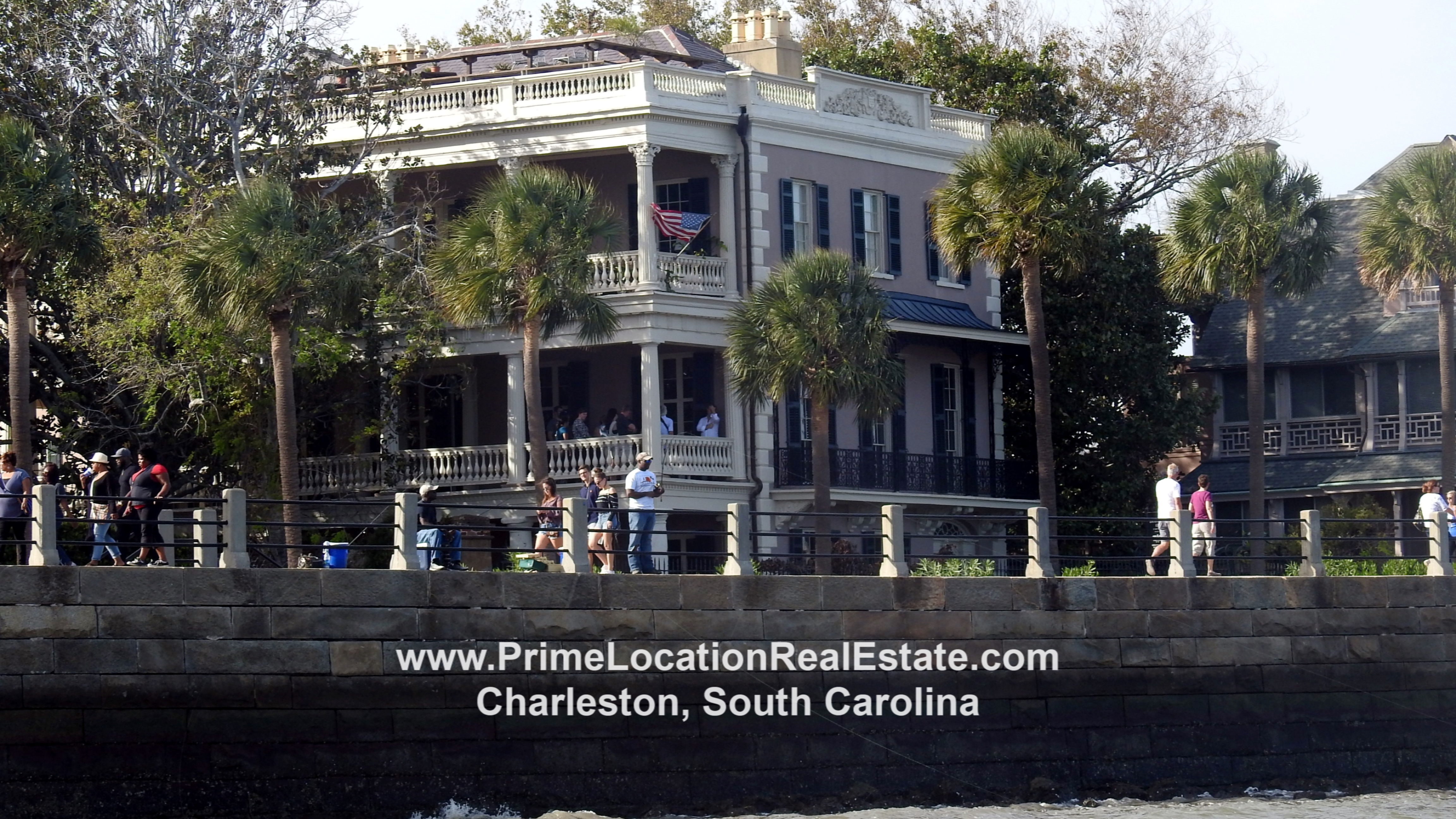Home on Charleston High Battery Charleston SC
