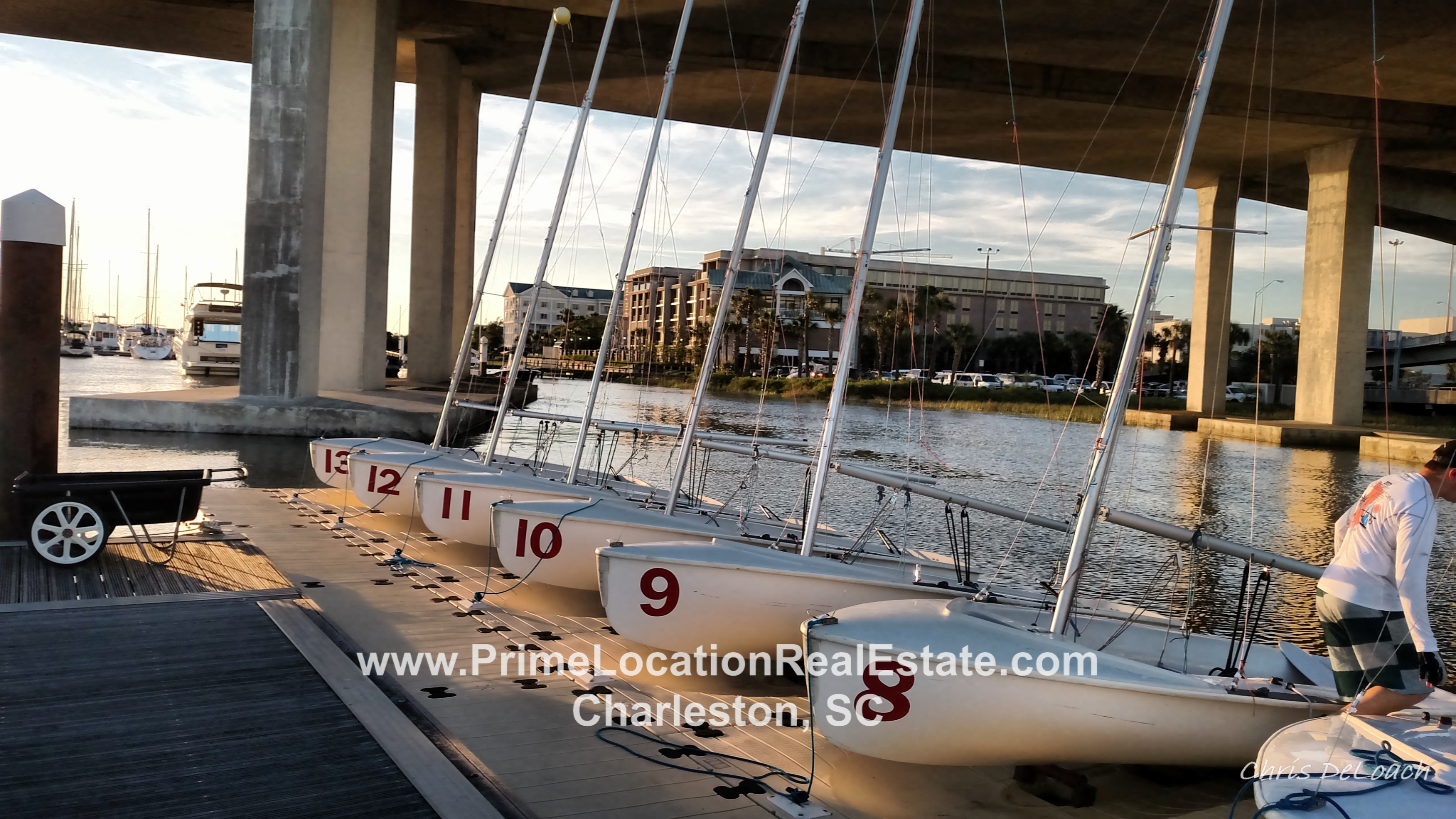 Charleston City Marina - Charleston Community Sailing 2