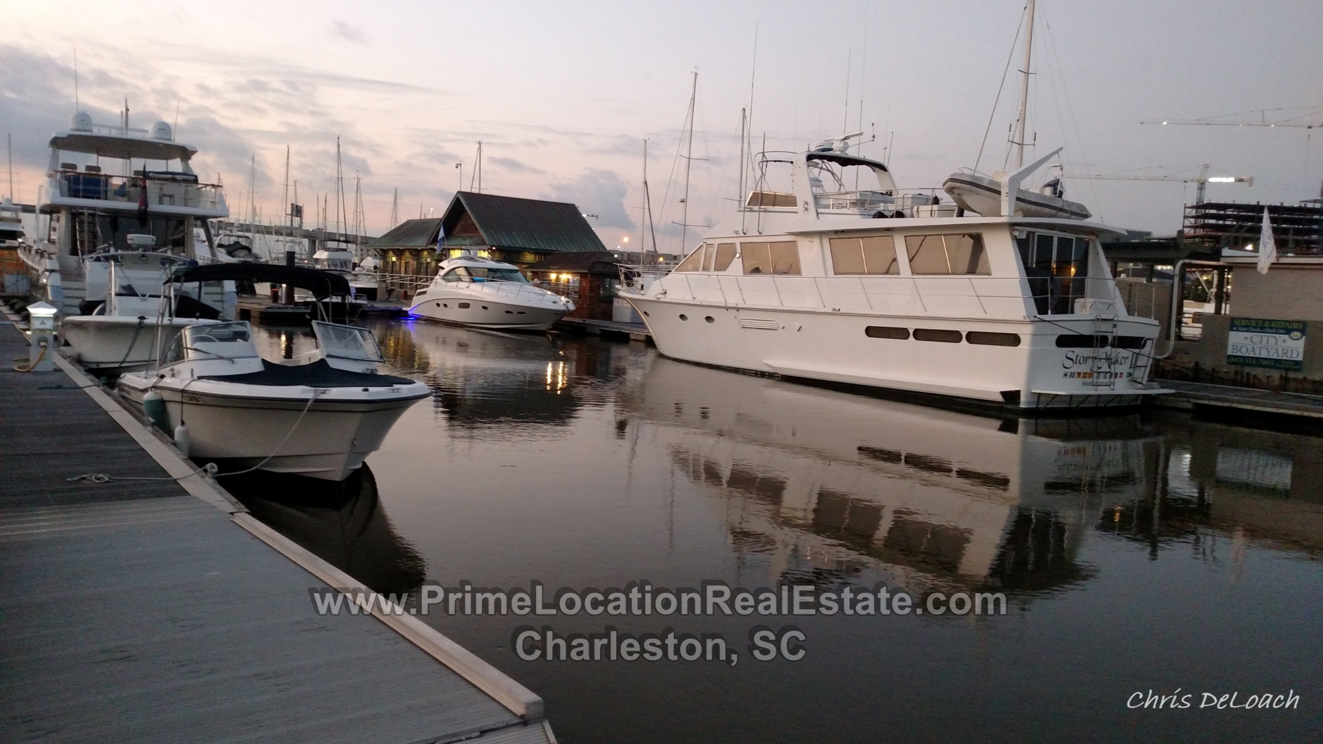 charleston city marina dock