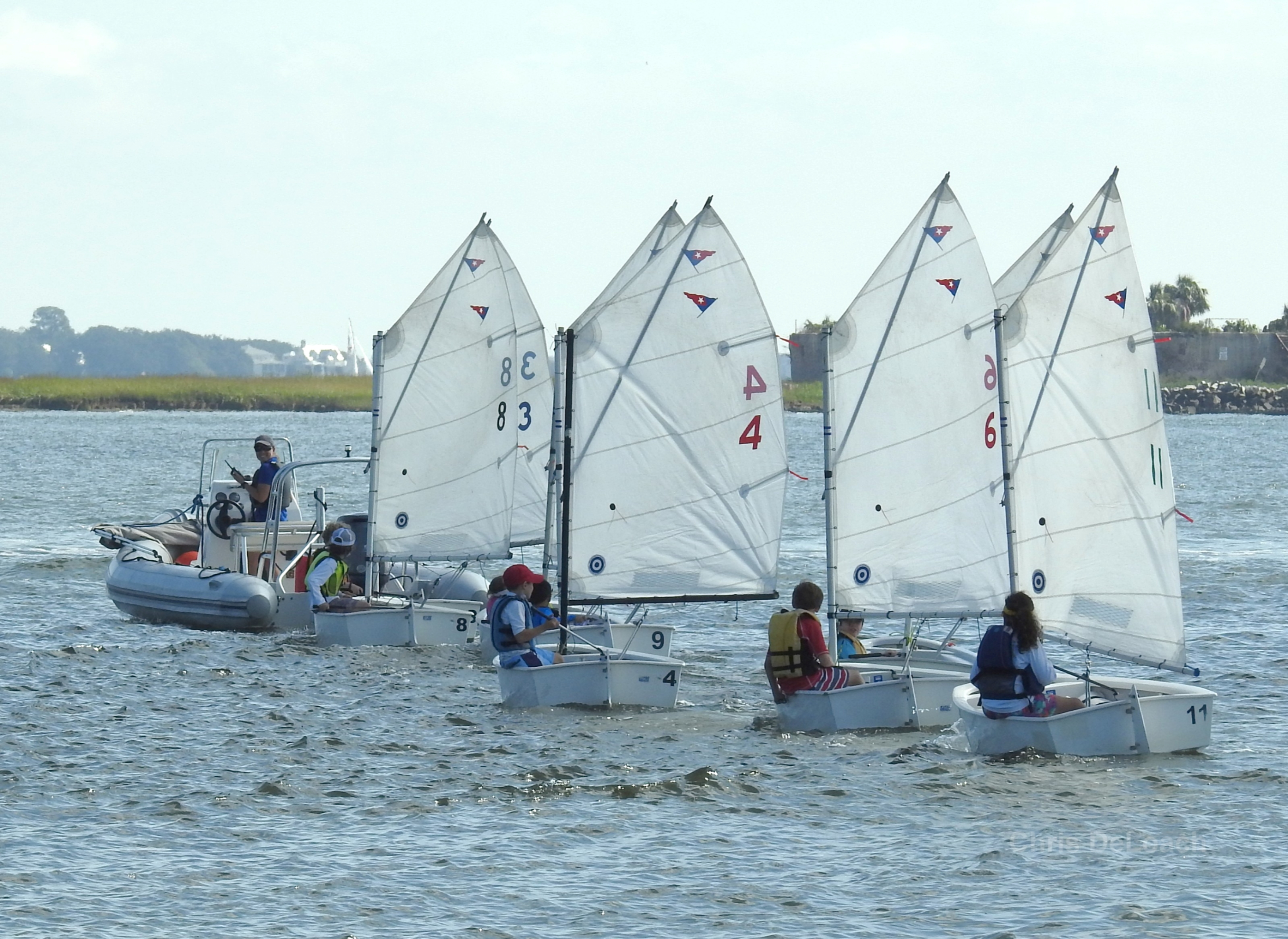 Youth Sailing in Charleston South Carolina