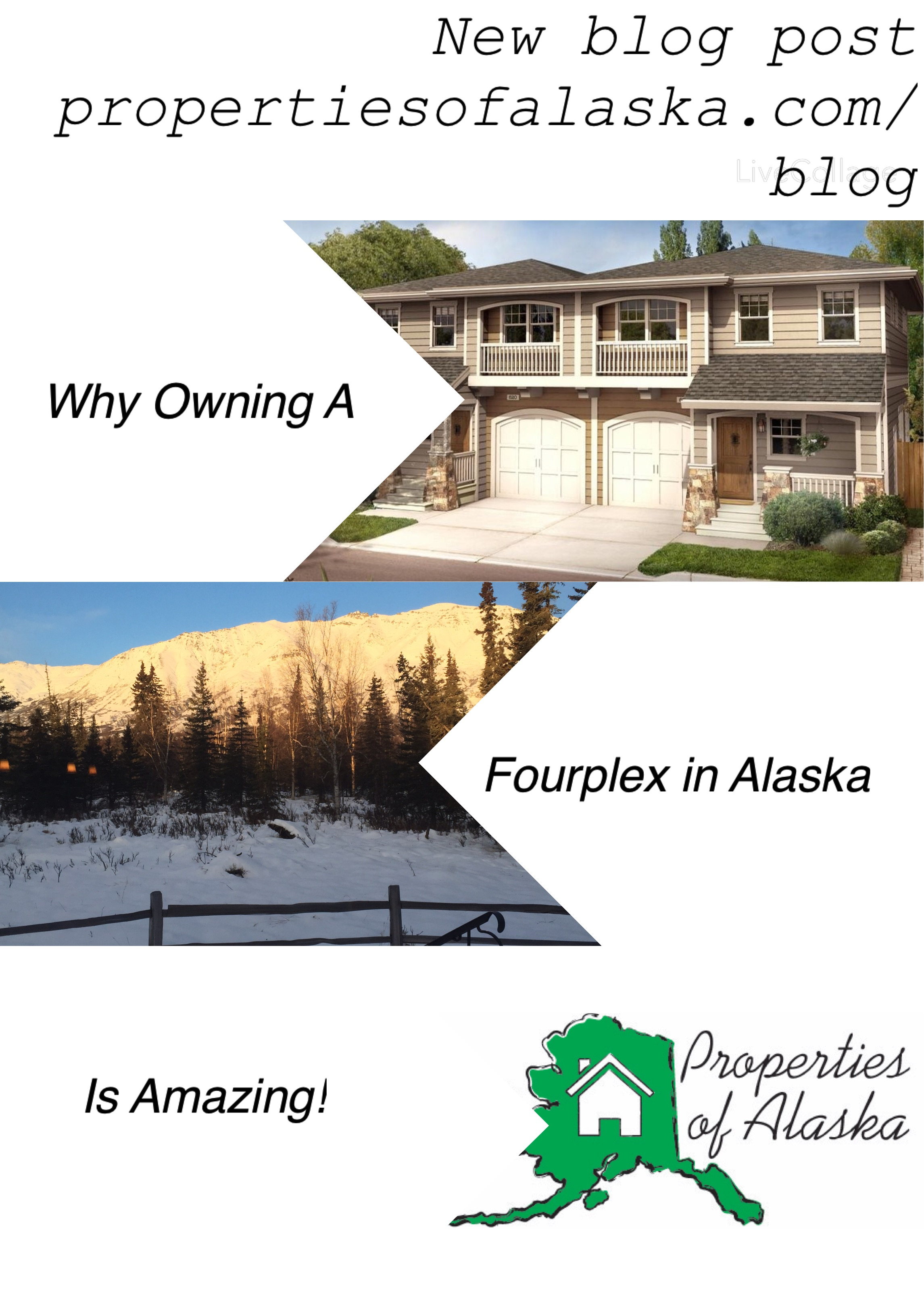 Investment anchorage real estate fourplex investing