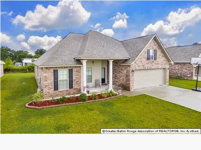 Keystone of galvez subdivision in prairieville homes for sale for Homes for sale in baton rouge with swimming pools