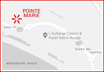 Pointe Marie map location