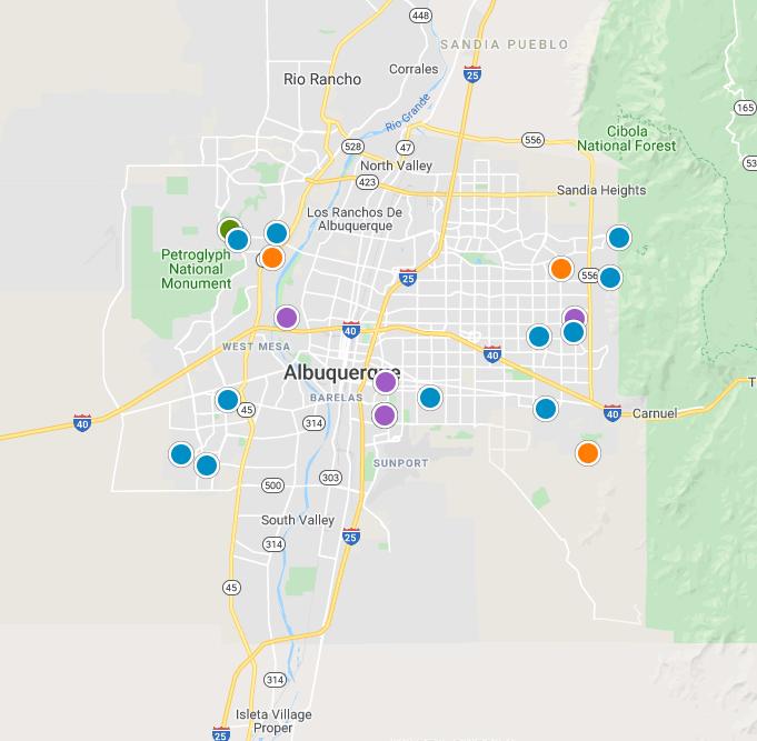 Albuquerque Real Estate Map Search