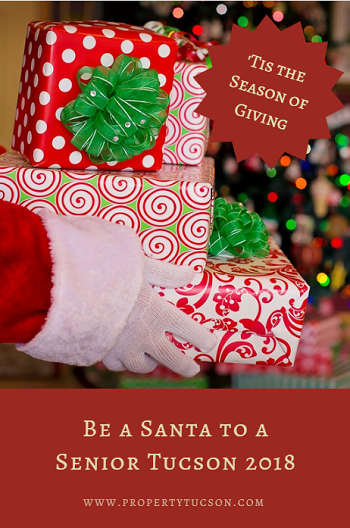 Help make this Christmas merry and bright for a lonely senior citizen by participating in the Be a Santa to a Senior Tucson program this year.
