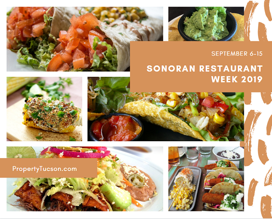 Try out some of your favorites or find a new favorite eatery during Sonoran Restaurant Week 2019 in Tucson.