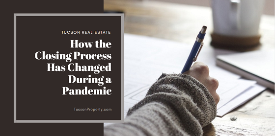 Concerns about COVID-19 extend even into the real estate market. The closing process has changed in an effort to reduce the chances of exposure for both buyers and sellers.
