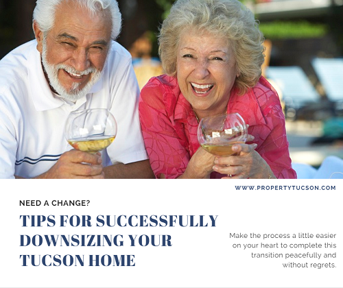 Are you considering downsizing your Tucson home? Use these simple tips to make the process a little easier on your heart and make a successful transition without regrets.