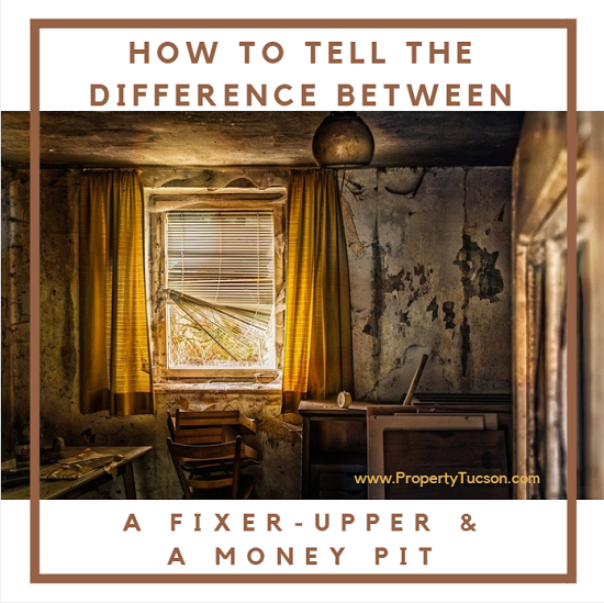 Don't confuse a fixer-upper with a money pit when buying a Tucson home. Find out which areas to concentrate before you invest in a Tucson home.
