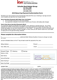 Recurring Payment Form