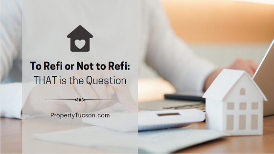 Extremely low interest rates make refinancing very attractive. But it is not always the answer. When should you refi and when should you not?