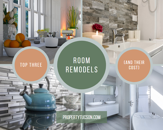 If you want to put your Tucson home on the market soon, you may need to update some of the areas of your home first. Which room remodels are the most popular with buyers?