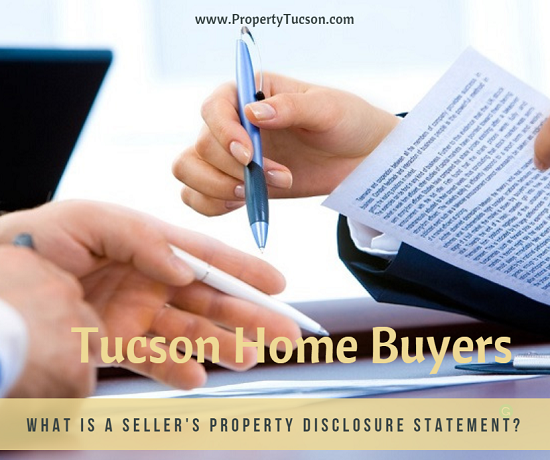 What is a Seller's Property Disclosure Statement (SPDS) and what should you be watching out for on it before you buy that Tucson home?