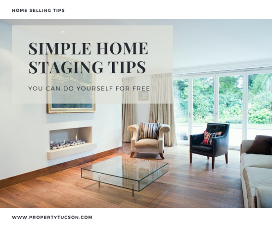 Staging your Tucson home to sell doesn't have to cost you an arm and a leg. Try these simple home staging tips that you can do yourself for free.