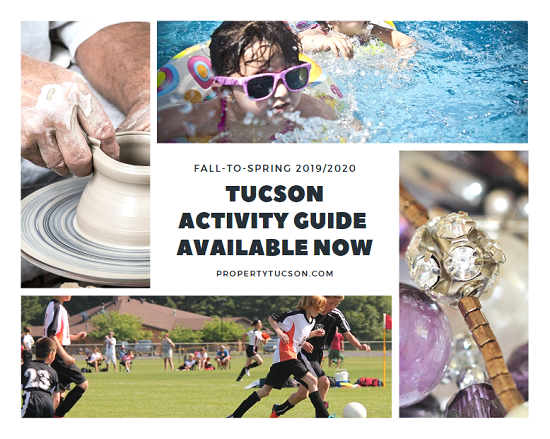 The new Tucson Activity Guide for Fall/Winter/Spring 2019/2020 is now available online. Register soon so you don't miss any of the fun.