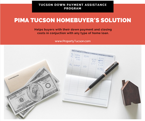 Don't have enough for your down payment and closing costs? The Pima Tucson Homebuyer's Solution provides a Tucson down payment assistance program to use with any type of home loan.