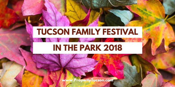 Bring canned food with you to the Tucson Family Festival in the Park 2018 on Nov 17th. All food collected goes directly to our local food bank for the holidays.