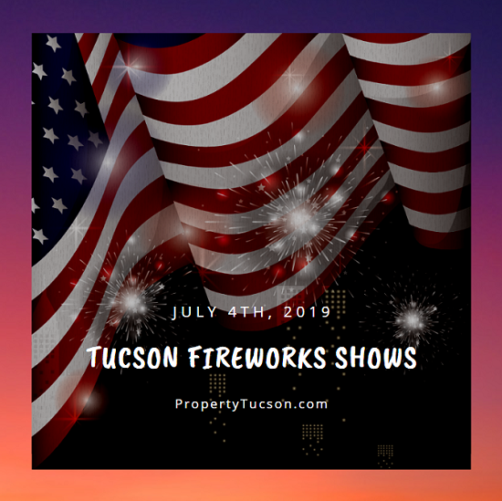 Where will you be watching fireworks go off this year? Locals have five different options of Tucson fireworks shows to choose from this 4th of July.