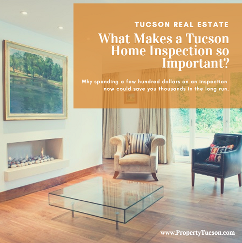 What makes a Tucson home inspection so important? An inspector looks in places you don't normally see on your initial walk-through of a property. They might find issues you were unaware of.