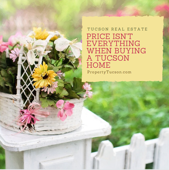 """When it comes to buying a Tucson home, pricing isn't everything. Avoid """"buyer's remorse"""" by paying attention to the neighborhood it's located in, too."""