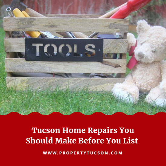Before you even list your Tucson house on the market, you should complete a few of these home repairs first to receive top dollar on your sale.