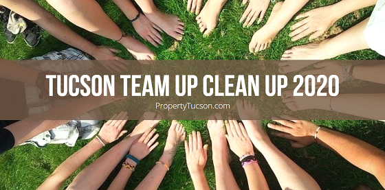 Flaunt your community pride by signing up for the Tucson Team Up Clean Up 2020, a city-wide clean-up effort taking place between June 24th and 27th.