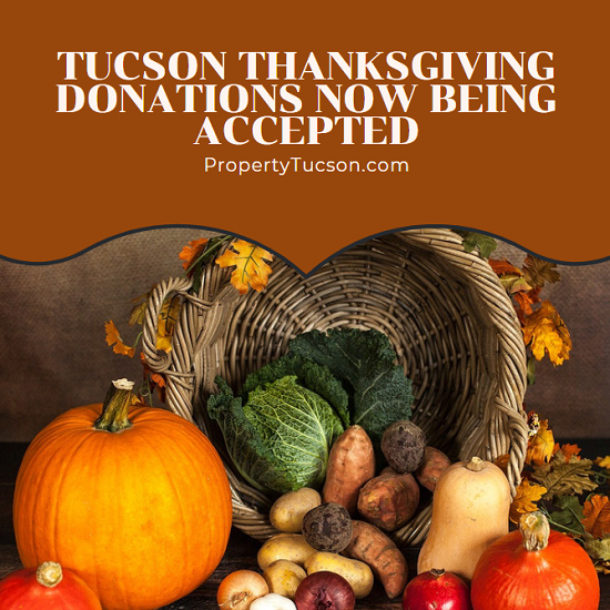 Three separate local organizations are hosting meals this month to our less fortunate residents. But they need your help to do so. Tucson Thanksgiving donations are now being accepted at all three locations.