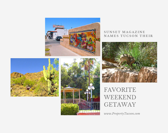 Sunset Magazine recently named Tucson as their new favorite weekend getaway for several reasons, including our great weather, tons of outdoor activities available year-round, amazing food scene, and affordability factor.