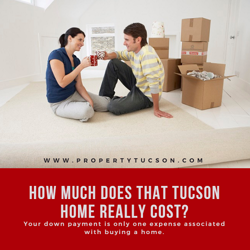Your down payment is only one portion of the money involved in buying a Tucson home. Other expenses might creep up on you if you don't know what they are. How much does it really cost to buy a home?