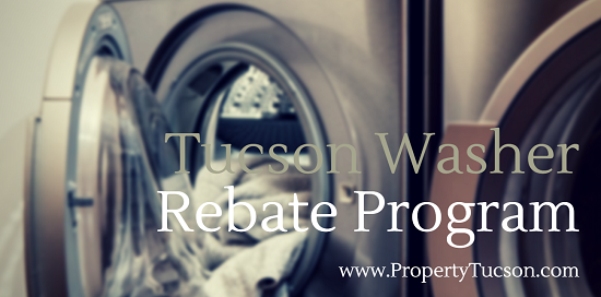 If you're interested in reducing your water usage, a $200 rebate through the Tucson Washer Rebate Program can help pay for a high-efficiency model upgrade.