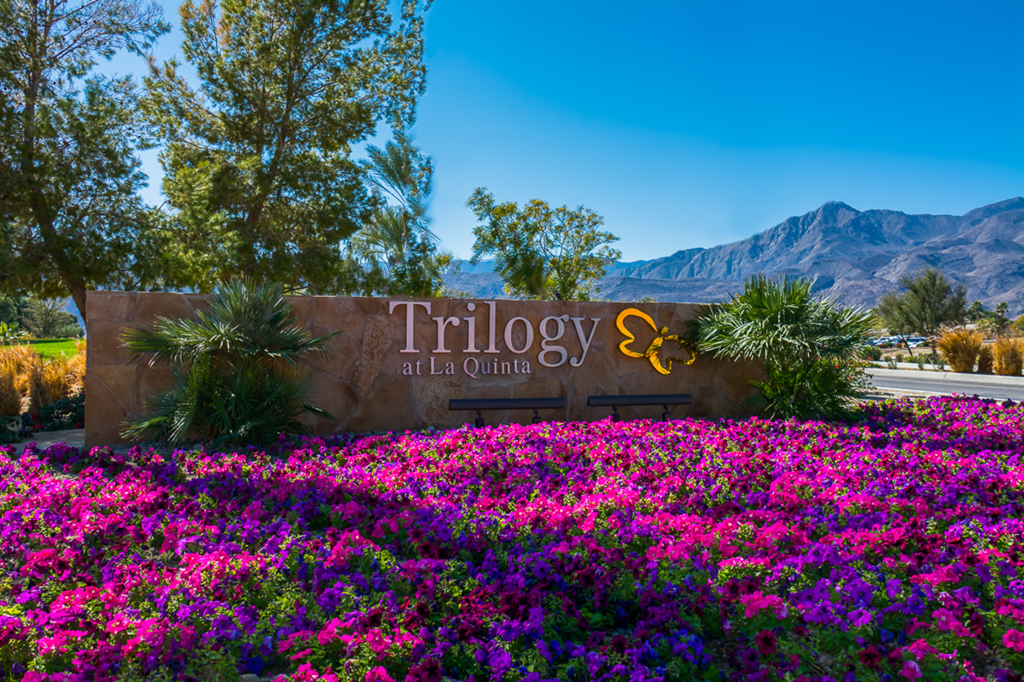Trilogy La Quinta CA Entrance