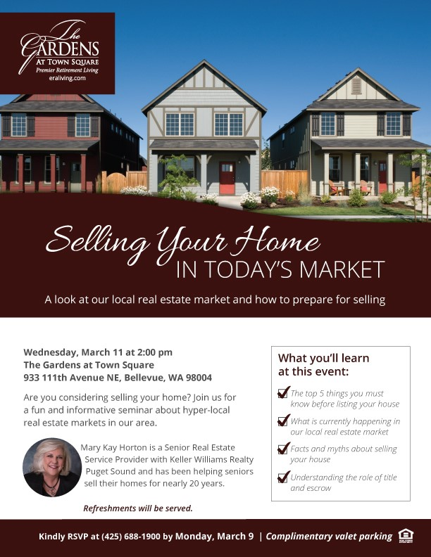 Selling Your Home in Today's Market with Mary Kay Horton