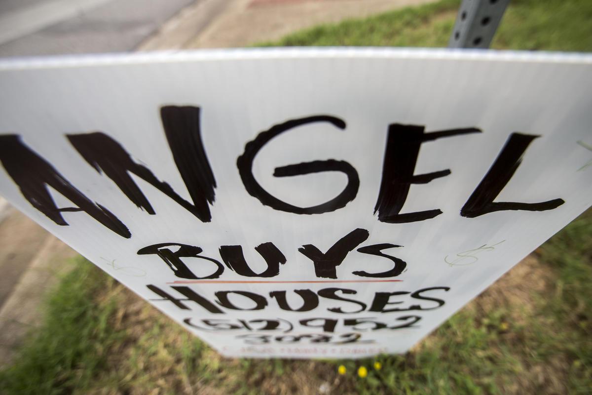 austin real estate bandit sign wholesaling investor