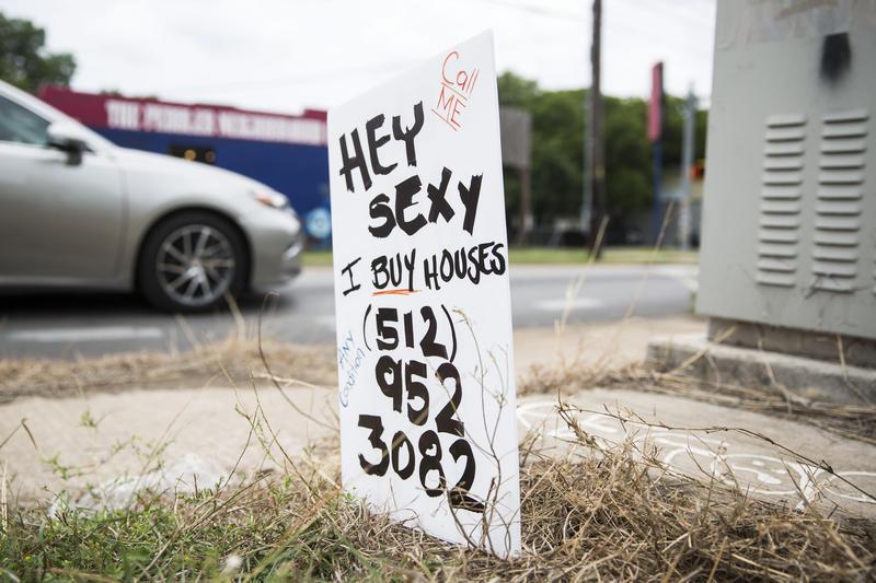 Bandit Sign Real Estate Austin