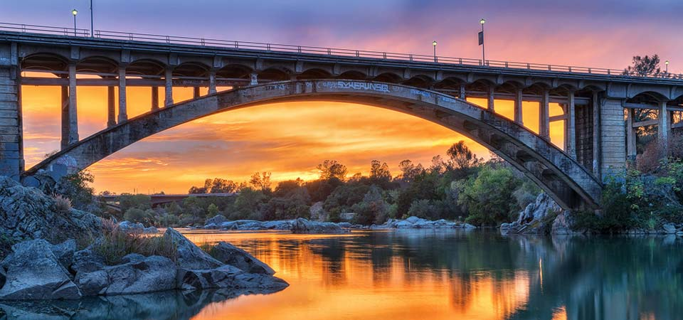 rainbow bridge in folsom