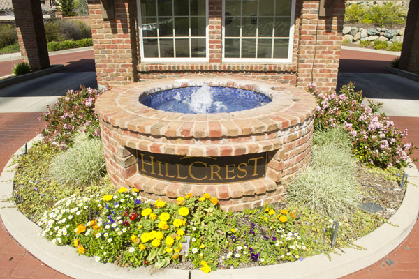 Hillcrest Empire Ranch community entrance to homes