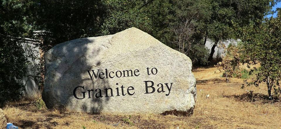 Granite Bay Neighborhoods Welcome Sign