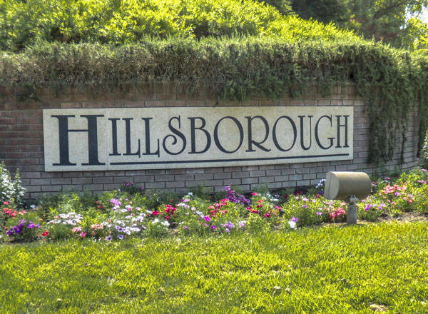 Hillsborough, Granite Bay entrance