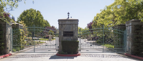 Silverwood, Granite Bay Community Entrance