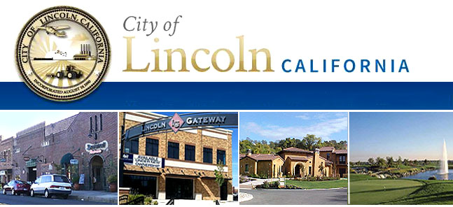 Lincoln CA City Seal and features
