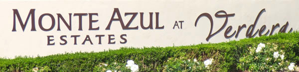 Homes for Sale in Monte Azul at Verdera