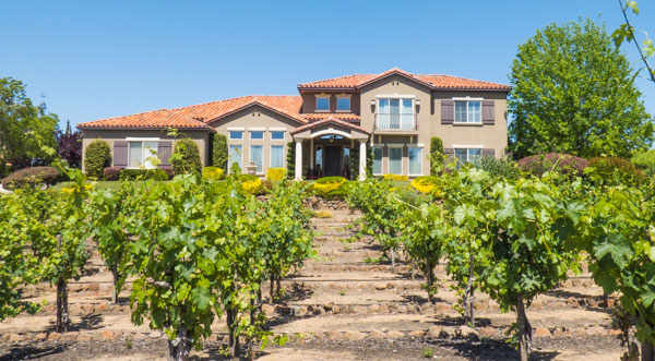 Clos du Lac Vineyard Home