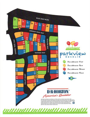 D.R. Horton Rocklin- Parkview Development