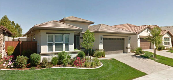 California Palm Tree With This Lovely West Roseville Home