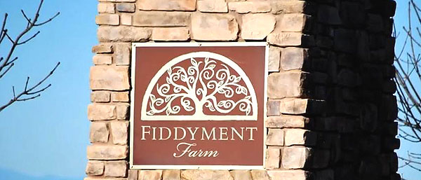 Fiddyment Farm Sign in Roseville
