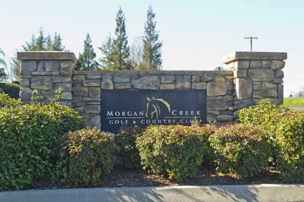 Morgan Creek sign