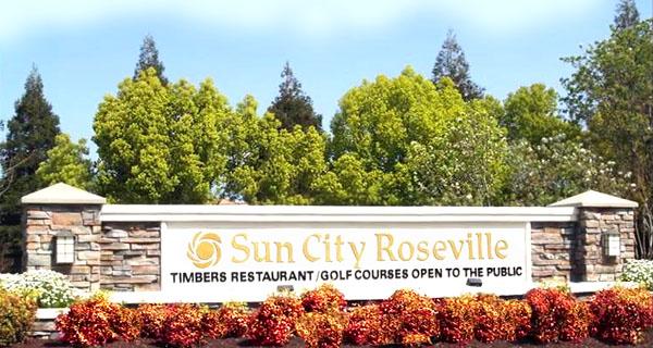 Sun City Roseville Entrance
