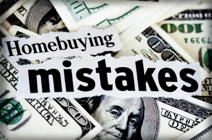Biggest First Time Home Buyer Mistakes