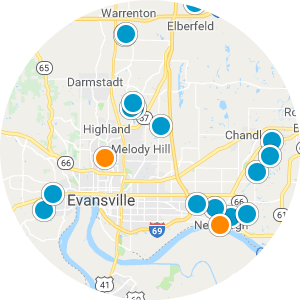 Evansville Real Estate Map Search