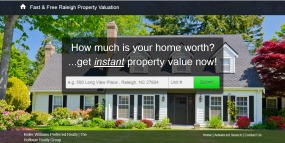 Raleigh NC Free Home Valuation